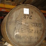 """God Jul"" in Glenfarclas barrel"